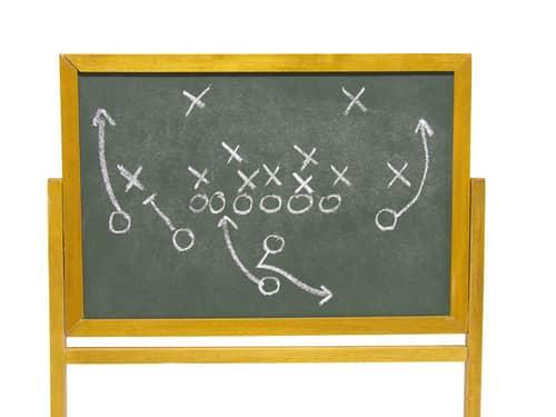 Football play plans
