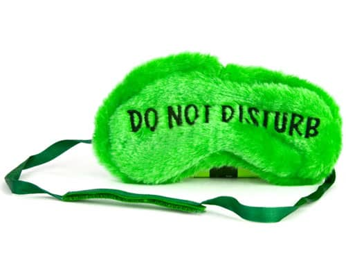 Do not disturb mask