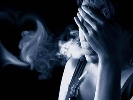 Depressed smoke