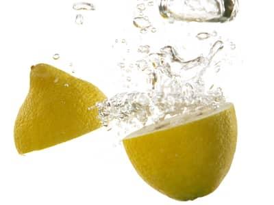 Lemons in water