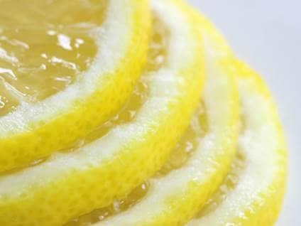 Stacked lemon slices