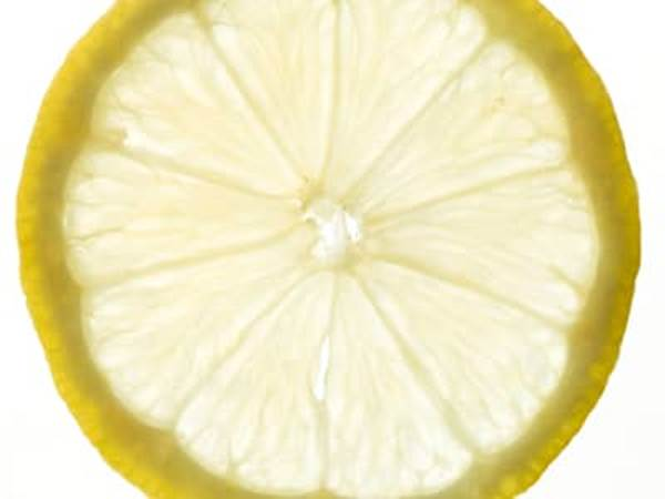 Thin lemon slice