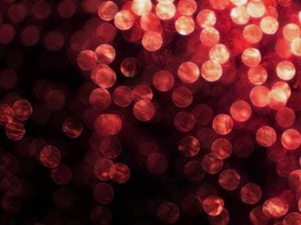 Soft red lights