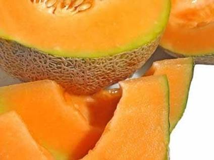 cantaloupe, fruit