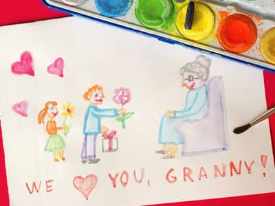 Drawing of We Love Granny