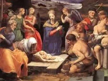 was jesus really born in a stable  - the shepherds