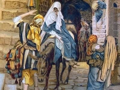 was jesus really born in a stable  - no innkeeper