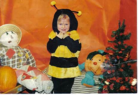 Julie's Bee-utiful Halloween Costume