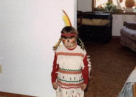 Lauren Halloween 1980's