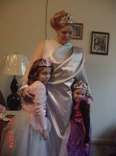 Three Halloween Princesses