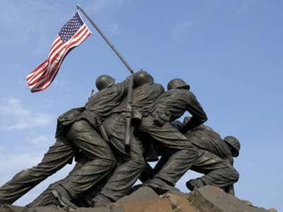 Iwo Jima statue in Washington DC