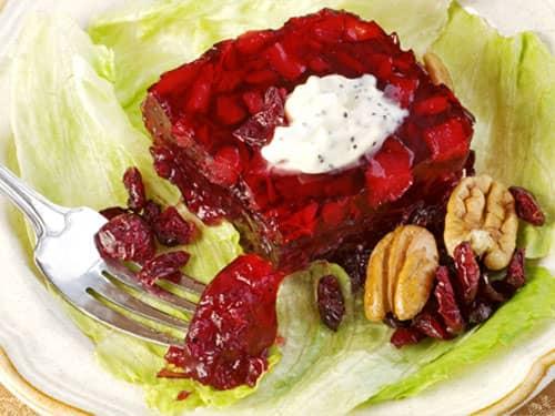 Thanksgiving Recipes - cranberry salad