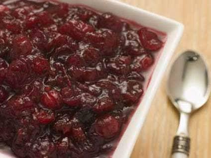 Thanksgiving Recipes - Cranberry Pear Relish