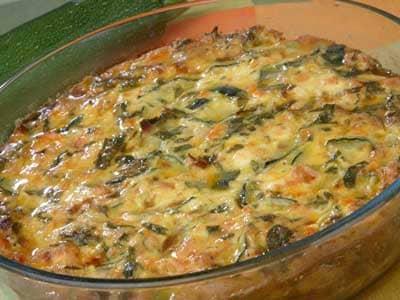 Thanksgiving Recipes - Zucchini Casserole