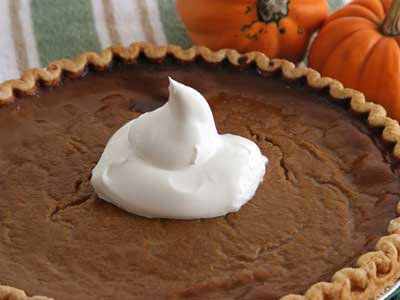Thanksgiving Recipes - Pumpkin Pie