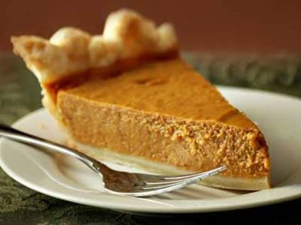 Thanksgiving Recipes - Pumpkin Cheesecake