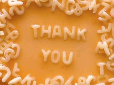 Thank you alphabet soup