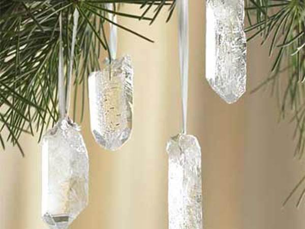 Quartz Crystal Ornaments