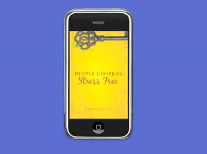 Deepak Chopra Stress Free iPhone App