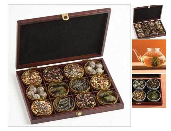 Organic tea set