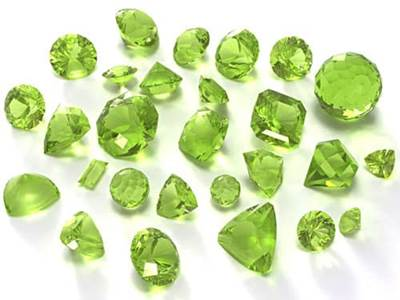 Birthstone for August - Peridot