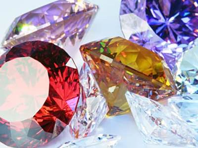 Colorful Birthstones