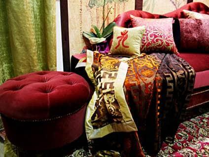 Velvet couch lush lounge