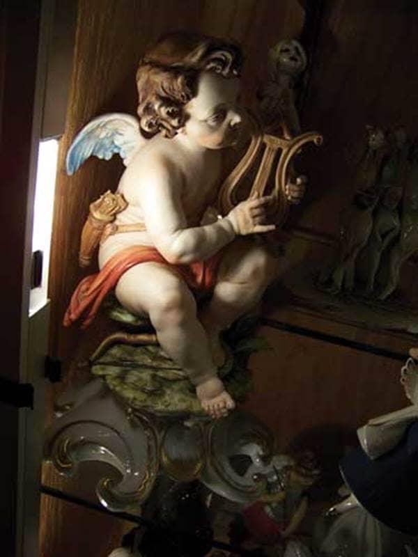 Angel Museum Angel with Harp