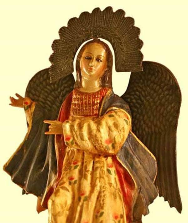 Angel Museum Angel in a Headdress