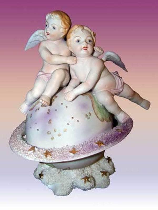 Angel Museum Angels Sitting on a Globe