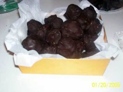 Angel Recipes Peanut Butter Bon Bons