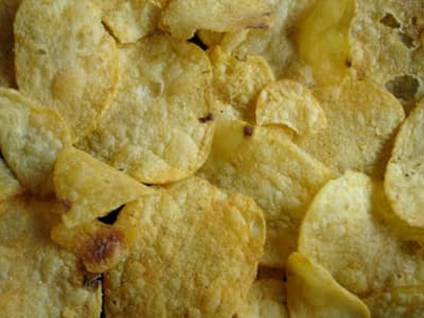 Angel Recipes Potato Chips