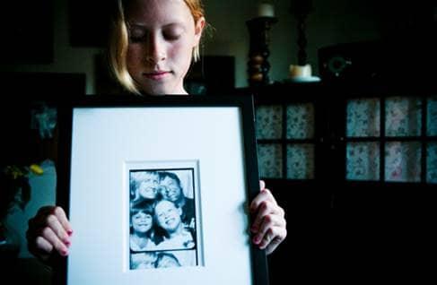 Photo Reflection of Family