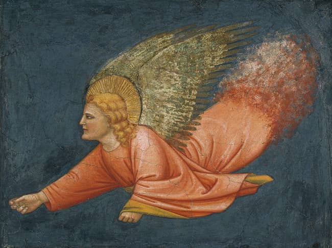 Angel - Italian Fresco, 14th Century
