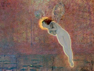 Angel Fairy painting