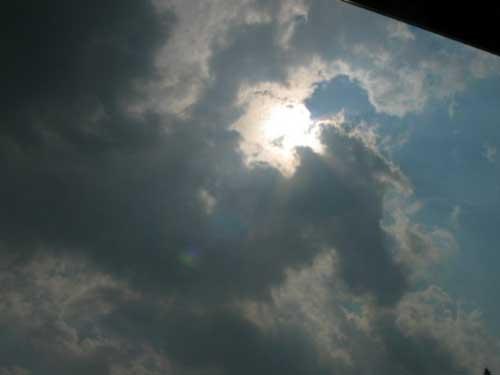 Angel sighting cloud