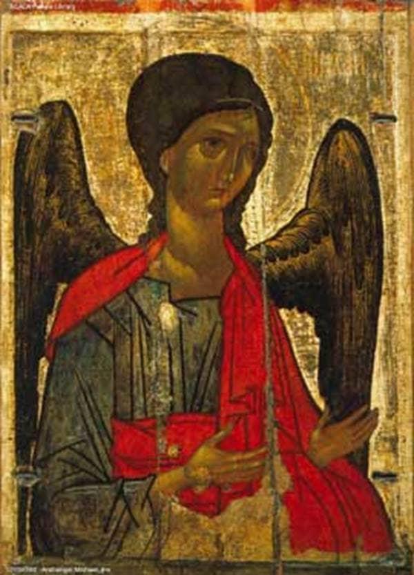 Archangel Michael (Russian Icon, circa 1390)
