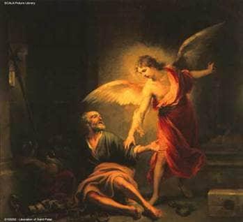 Liberation of St. Peter by Bartolomé Esteban Murillo