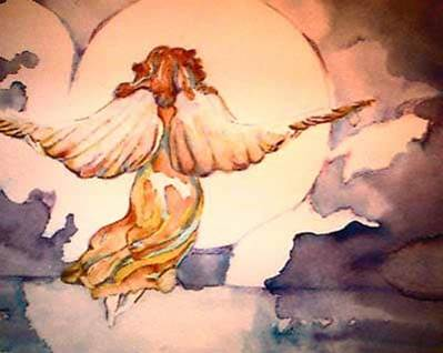 Your Original Angel Art Angel Rising by Kimberly Rex