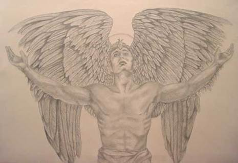 Your Original Angel Art Greg by Leigh Anne Marshall