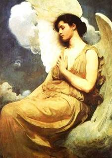 Winged Figure by Abbott Thayer
