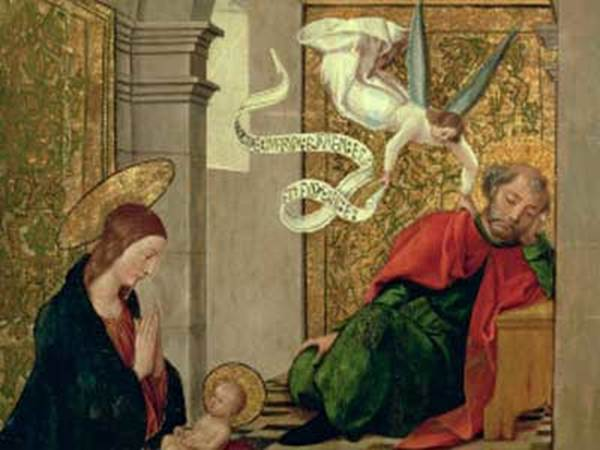 Angel Gabriel And Joseph