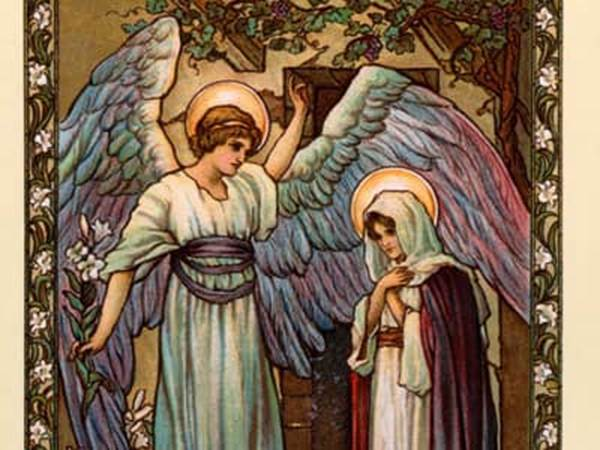 Heralding The Christmas Angels - What Did Marys Angel -3331