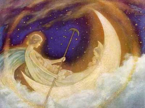 """""""Moon Boat to Dreamland"""" by Hugh Williams"""