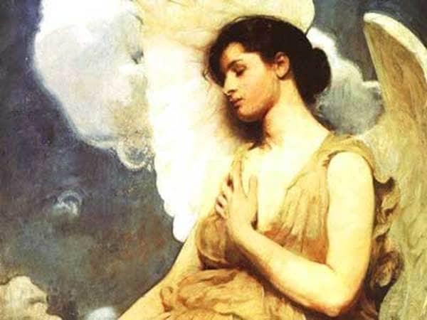 """Winged Figure"" by William Abbott Thayer"