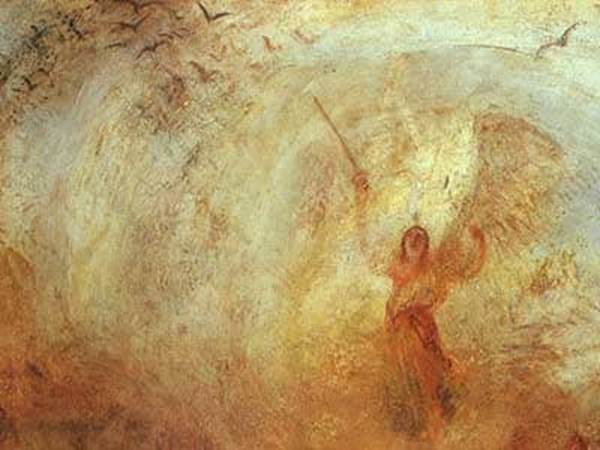 """""""Angel Standing in a Storm"""" by J.M.W. Turner"""