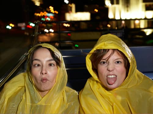 Women Making Funny Faces