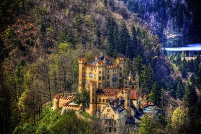 20 Most Beautiful Places In The World By Shelby Ballou Hohenschwangau Castle Germany Beliefnet