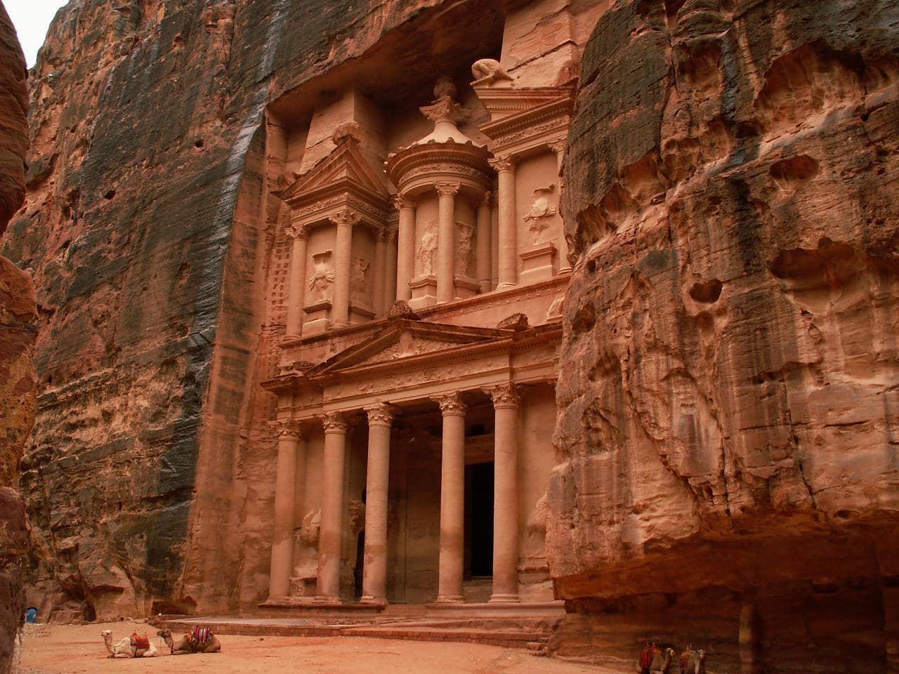 petra, jordan, 20 Most Beautiful Places