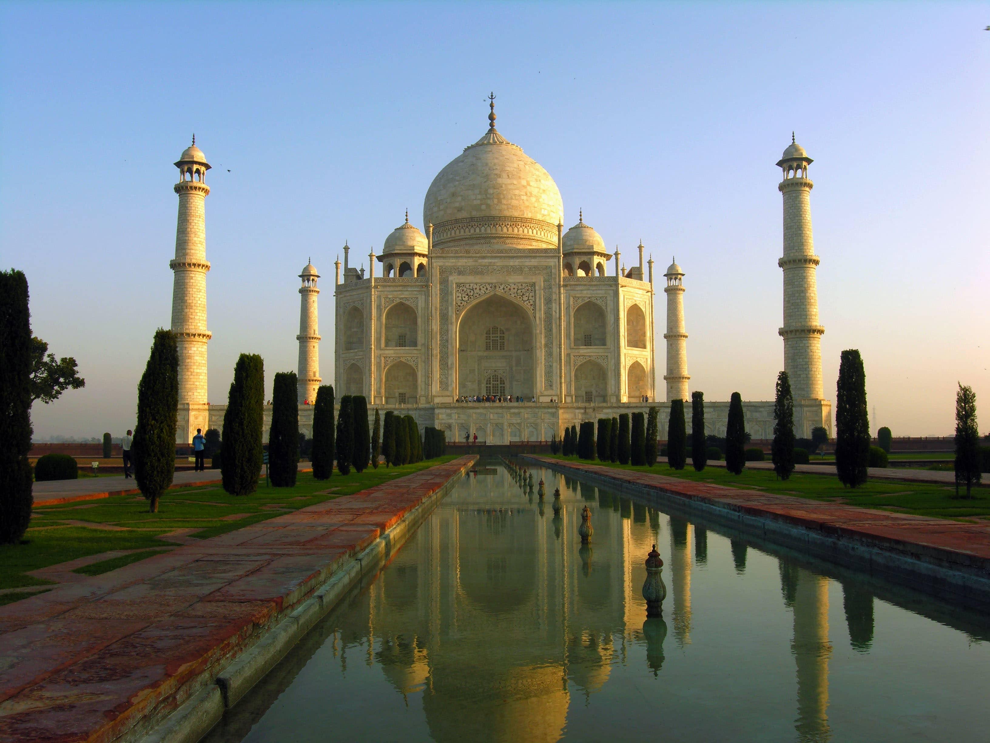 taj mahal, india, 20 Most Beautiful Places
